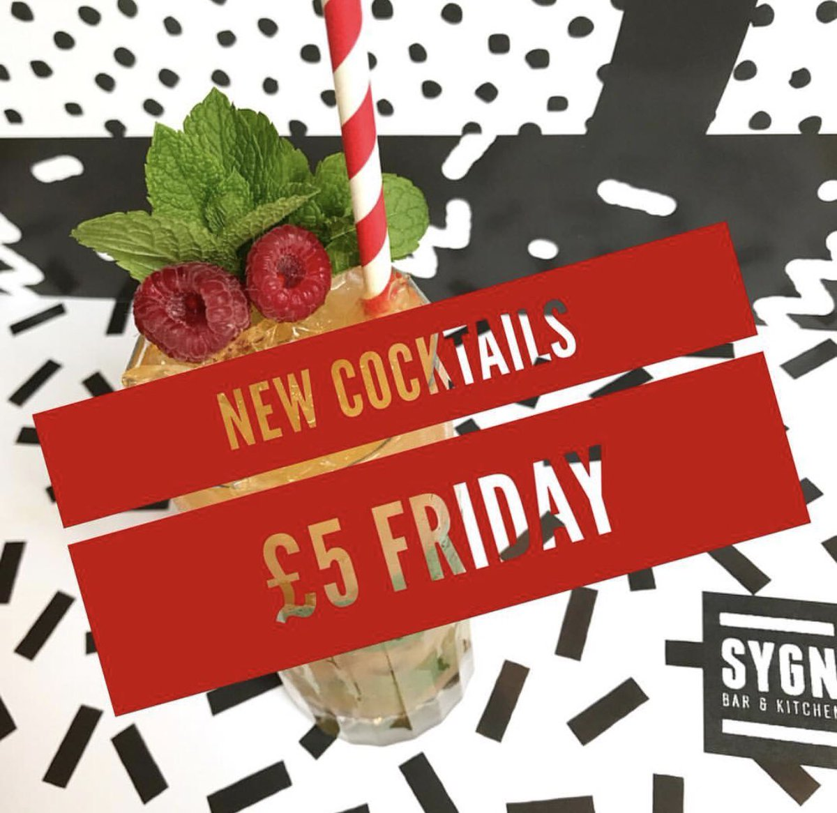#funfriday   Sygn Bar have launched their new cocktail list - and it's £5 Friday 🍸 Don't miss out! Plus if you pre-book your table you get 50% off your food bill! @sygnbarsays   #hiddengems #takeacloserlook #edinburghfood #thisisedinburgh #edinburgh