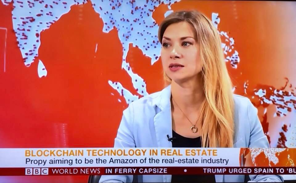 "Propy CEO @ngladkikh on BBC this morning. @PropyInc ""Amazon of the real estate industry"" #PRO @arringtonXRPcap"