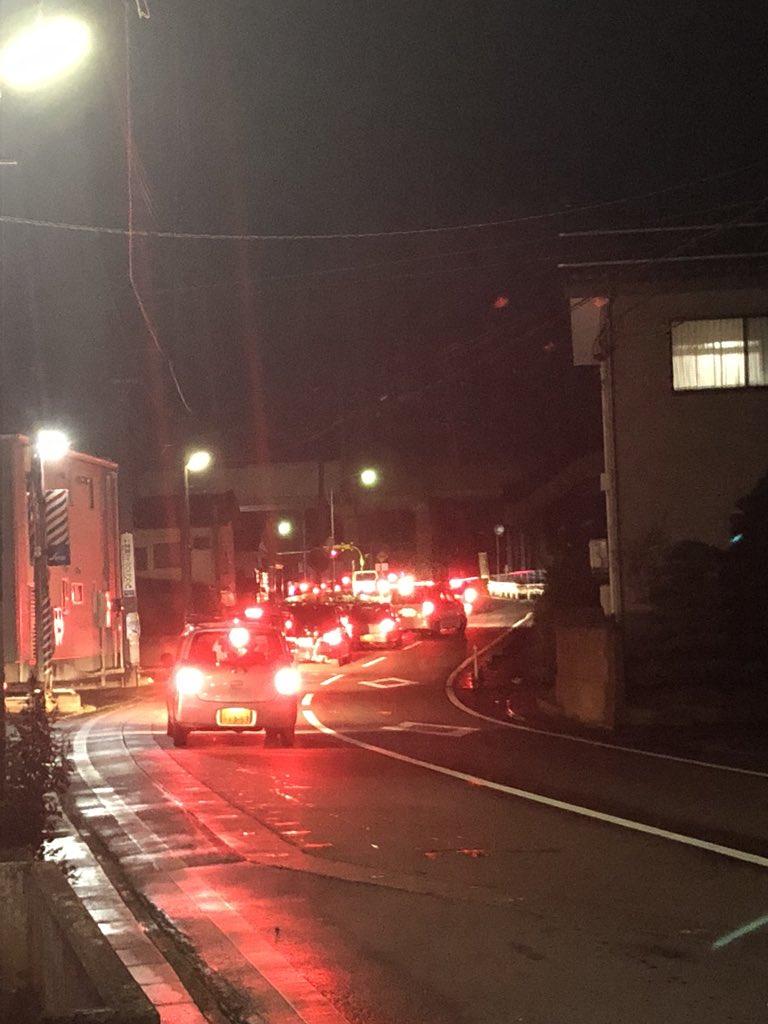 信越本線の北長岡駅付近の踏切で人身事故の現場の画像