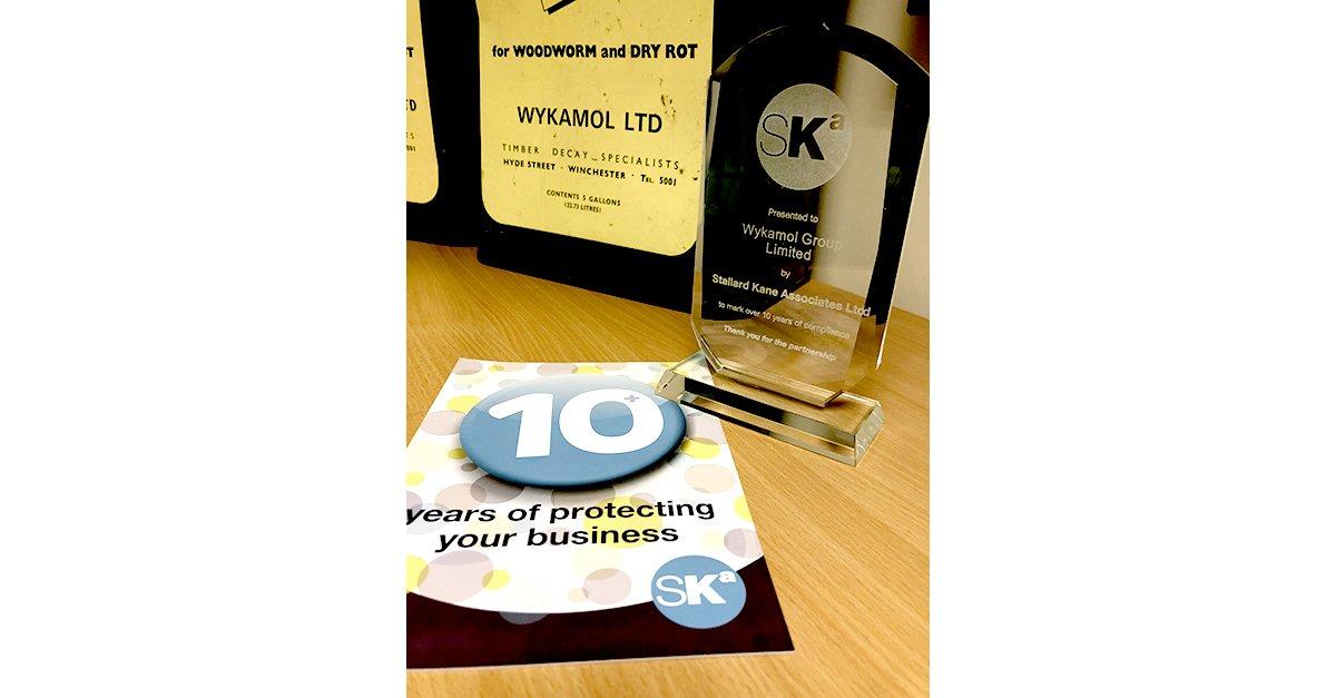Wykamol Group Ltd On Twitter 10 Years Working With At Stallardkane