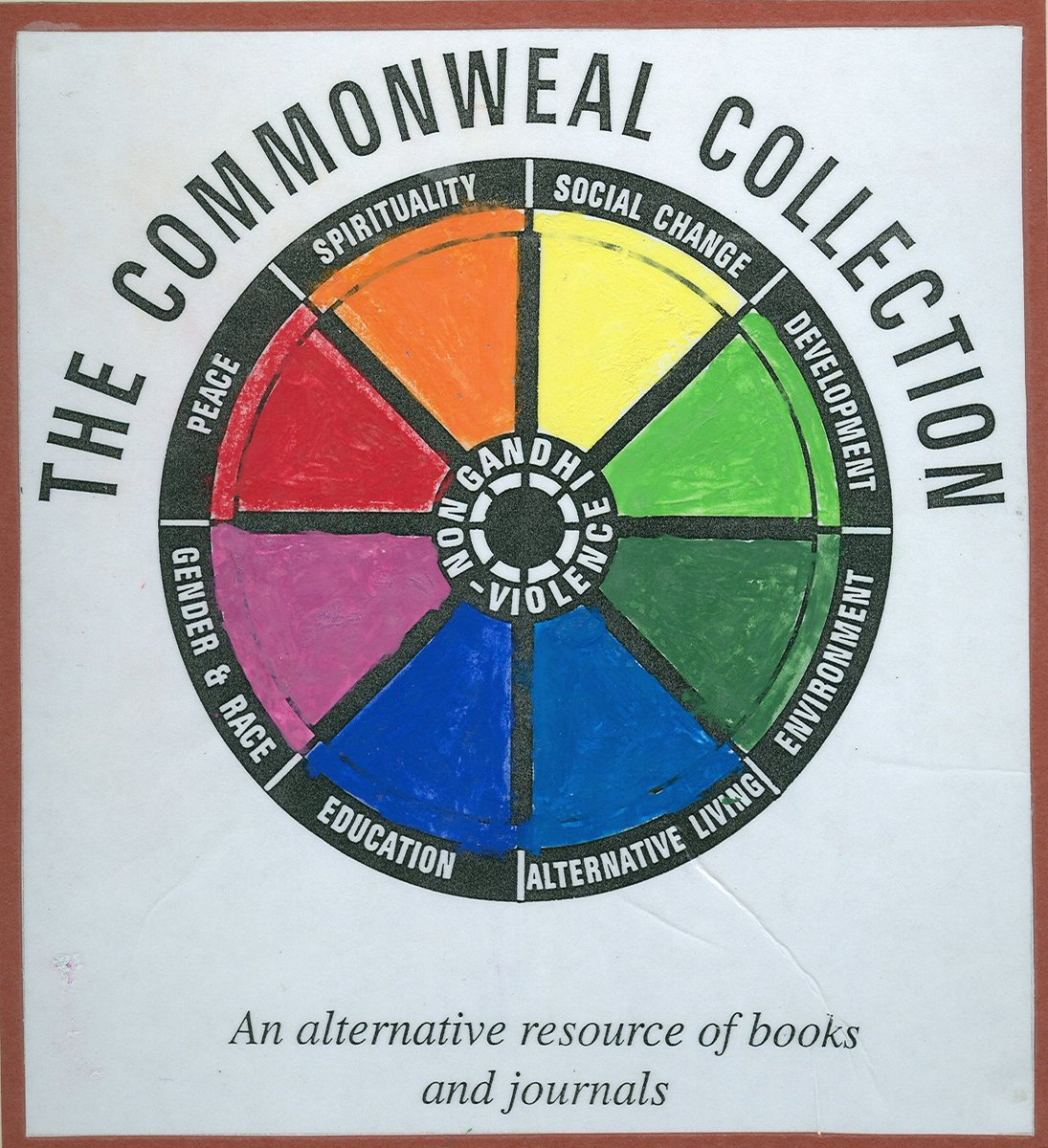 Thanks to @100objectsbrad and @LibraryUoB! There's more information about the Collection, our history, and @CommonwealUK's online work at https://t.co/INnMsvECdH  #InternationalDayOfPeace