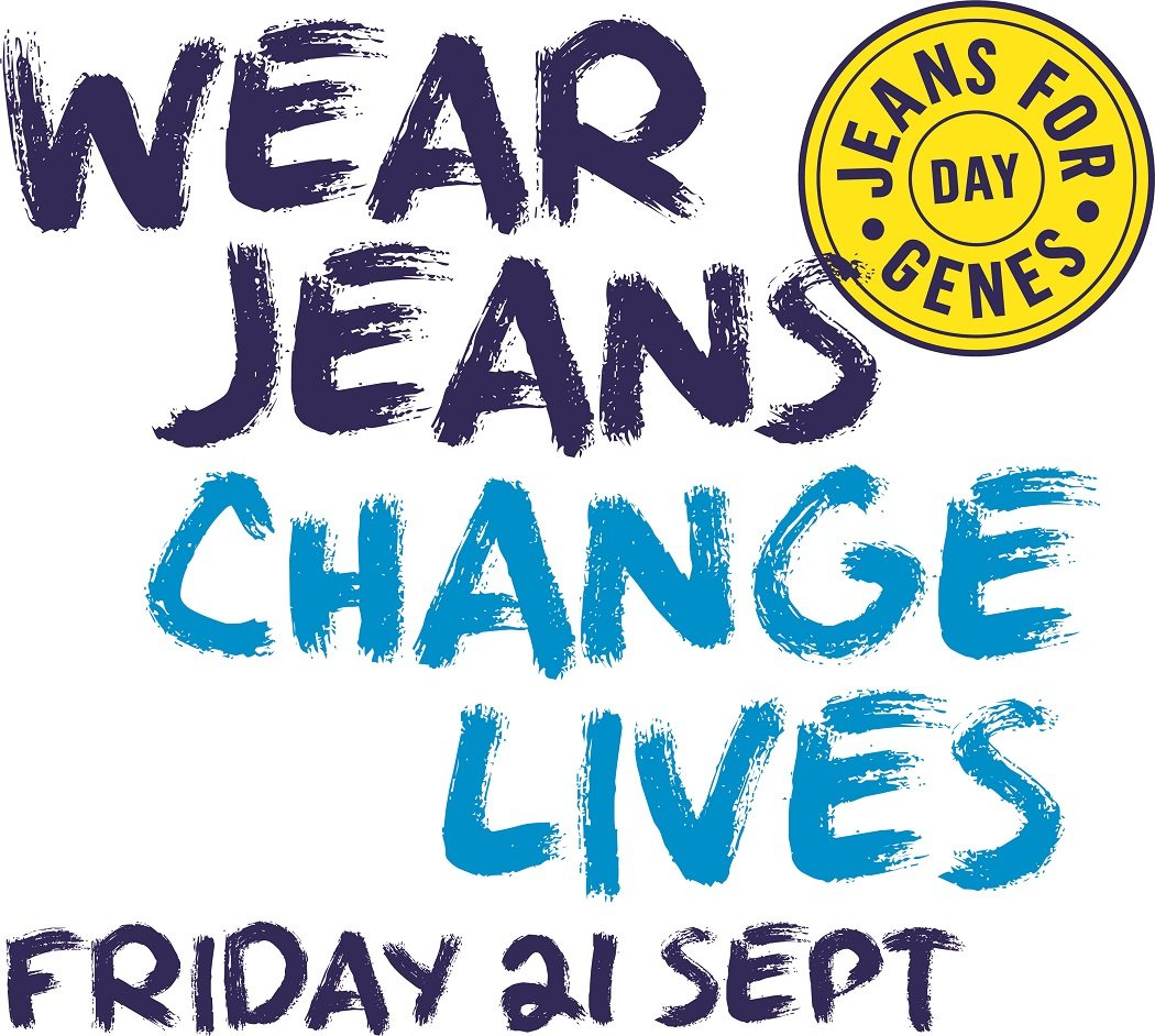 Today is #jeansforgenes day. Join us and help @JeansforGenes raise money to support children like Ryan with Cystic Fibrosis https://t.co/uGz8f3WrQd