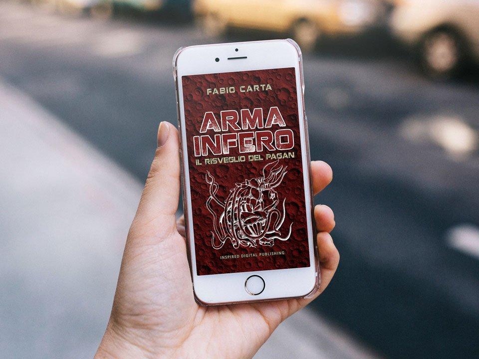 """È finalmente uscito il nuovo libro della saga di fantascienza Arma Infero (di Fabio Carta) dal titolo """"Il Risveglio del Pagan"""". Buona Lettura! http://amzn.to/2g0OyVq #Inspireddp #libri #leggere #armainfero #ebook #romanzo #scrittore #fantascienza  - Ukustom"""