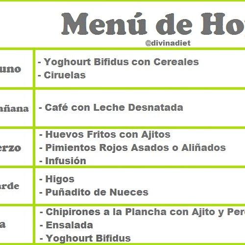 pagina web dieta disociada menu
