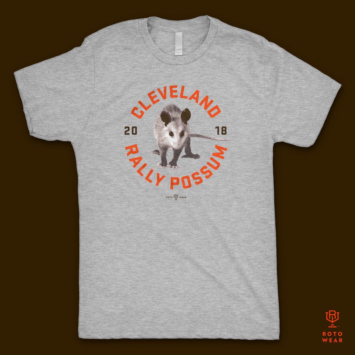 Rotowear On Twitter Cleveland Rally Possum Browns Available Only At Https T Co Kqgowrmmrk