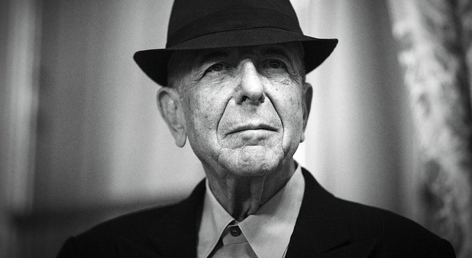 Happy birthday to the legendary Leonard Cohen! He would have turned 84 today.