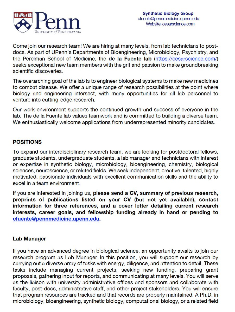 Upenn Cover Letter.Cesar De La Fuente On Twitter I Am Thrilled To Announce