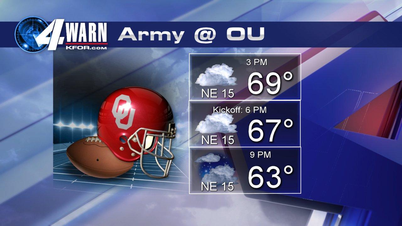 Storms move through parts of Oklahoma