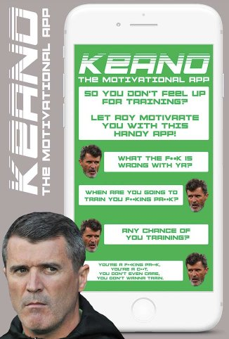 Get bollocked to success by Keano with the Roy Keane motivational app! Special offer in the latest issue of The Phoenix. Grab a copy today. Or subscribe online for less than €2 per issue. thephoenix.ie/subscribe1/