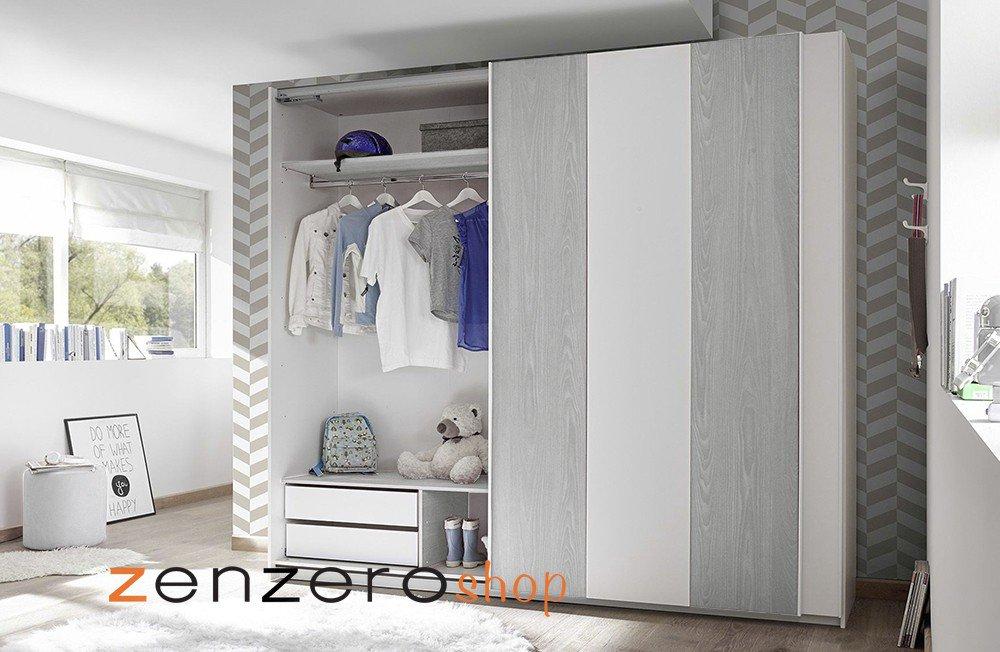 Armadio Ante Scorrevoli Veneto.Zenzero Shop On Twitter Armadio Vertigo 2 Ante Scorrevoli Bianco