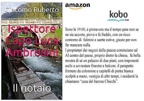 Ispettore Capo Luca Ambrosini su #Amazon #eBook #Kindle e #kobo a solo 0,99 € --- Amazon link: https://amzn.to/2L1kEwt September 21, 2018 at 02:00PM  - Ukustom