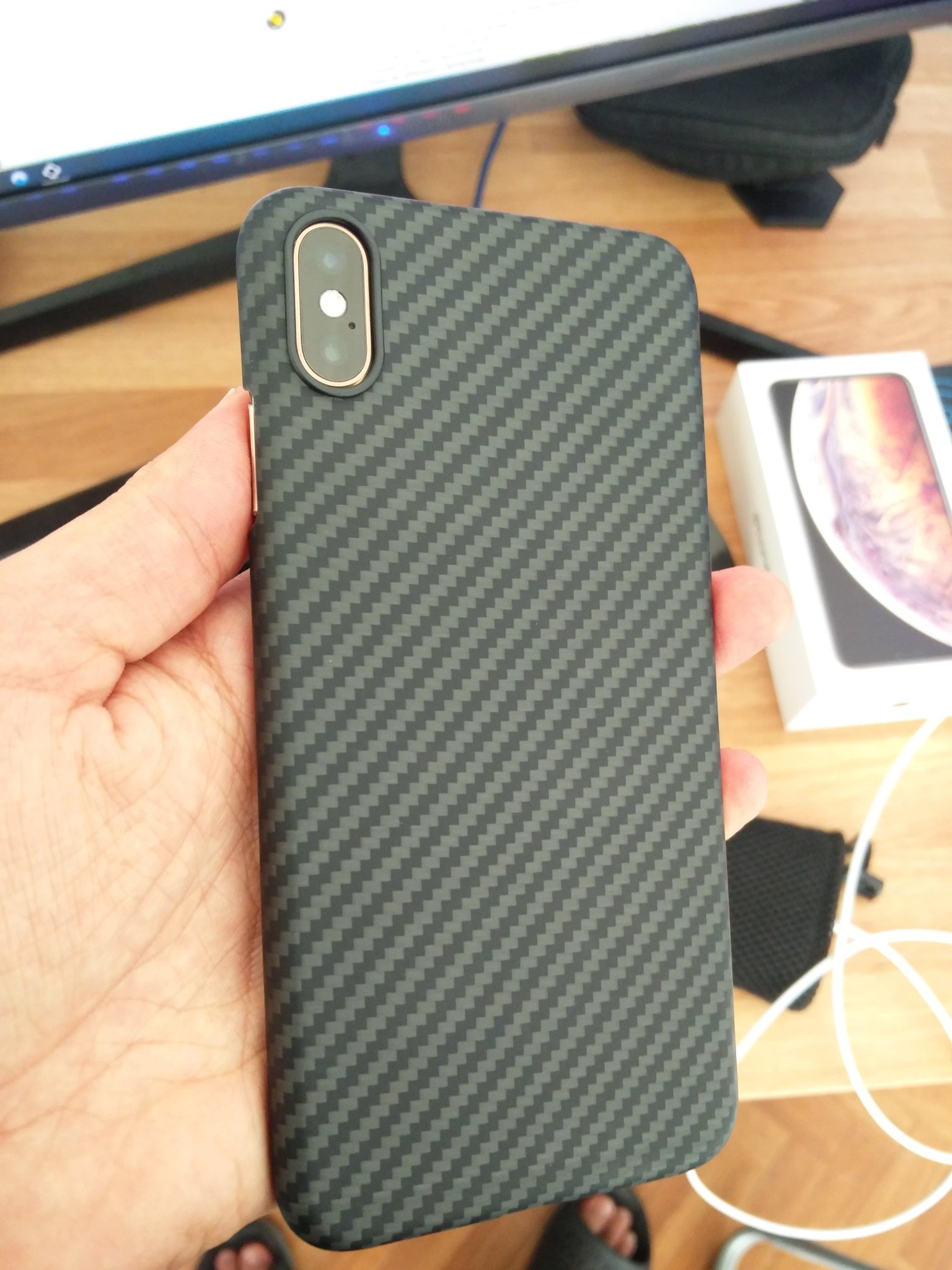 pitaka case iphone xs max