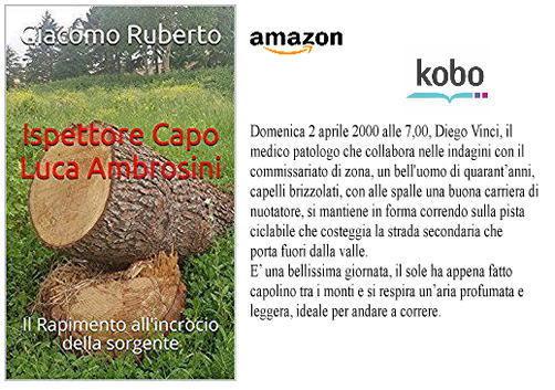 Ispettore Capo Luca Ambrosini su #Amazon #eBook #Kindle e #kobo a solo 0,99 € --- Amazon link: https://amzn.to/2L1kEwt September 21, 2018 at 03:00PM  - Ukustom