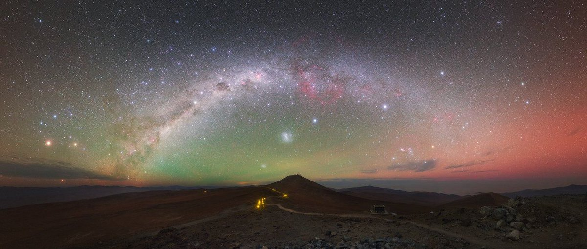 The Rise of Astrotourism in Chile And the importance of preserving the magnificent dark skies over ESO's telescopes https://t.co/yLuVErdYkz