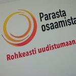Image for the Tweet beginning: OPEKE ja @Posaaja_ pohtivat tänään