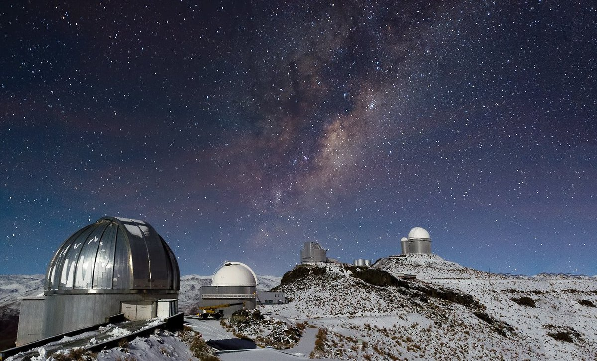 Beautiful images of the #ESO La Silla Observatory in Chile at an altitude of 2,400m #Space #Science