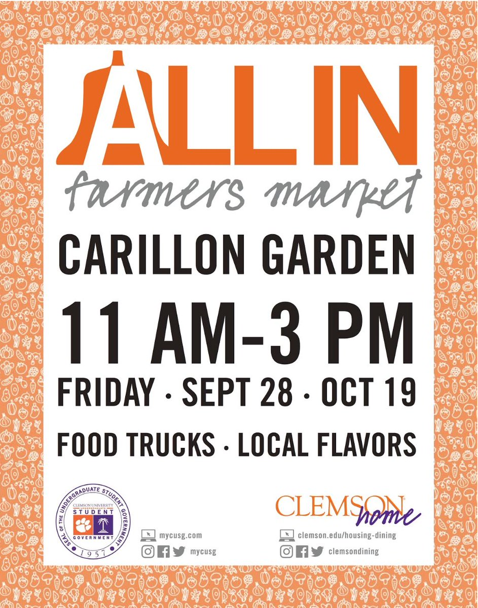 Cusg mycusg twitter come stop by the all in farmers market on september 28th for food trucks and fresh foodpicittermnmzomxzfh publicscrutiny Choice Image