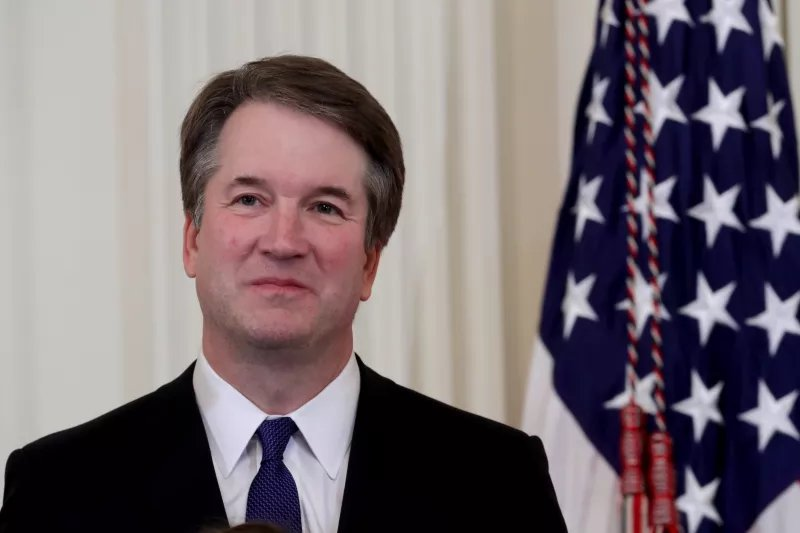 Brett Kavanaugh belonged to a frat that once chanted 'no means yes, and yes means anal'  https://t.co/c3rqY7kvgI
