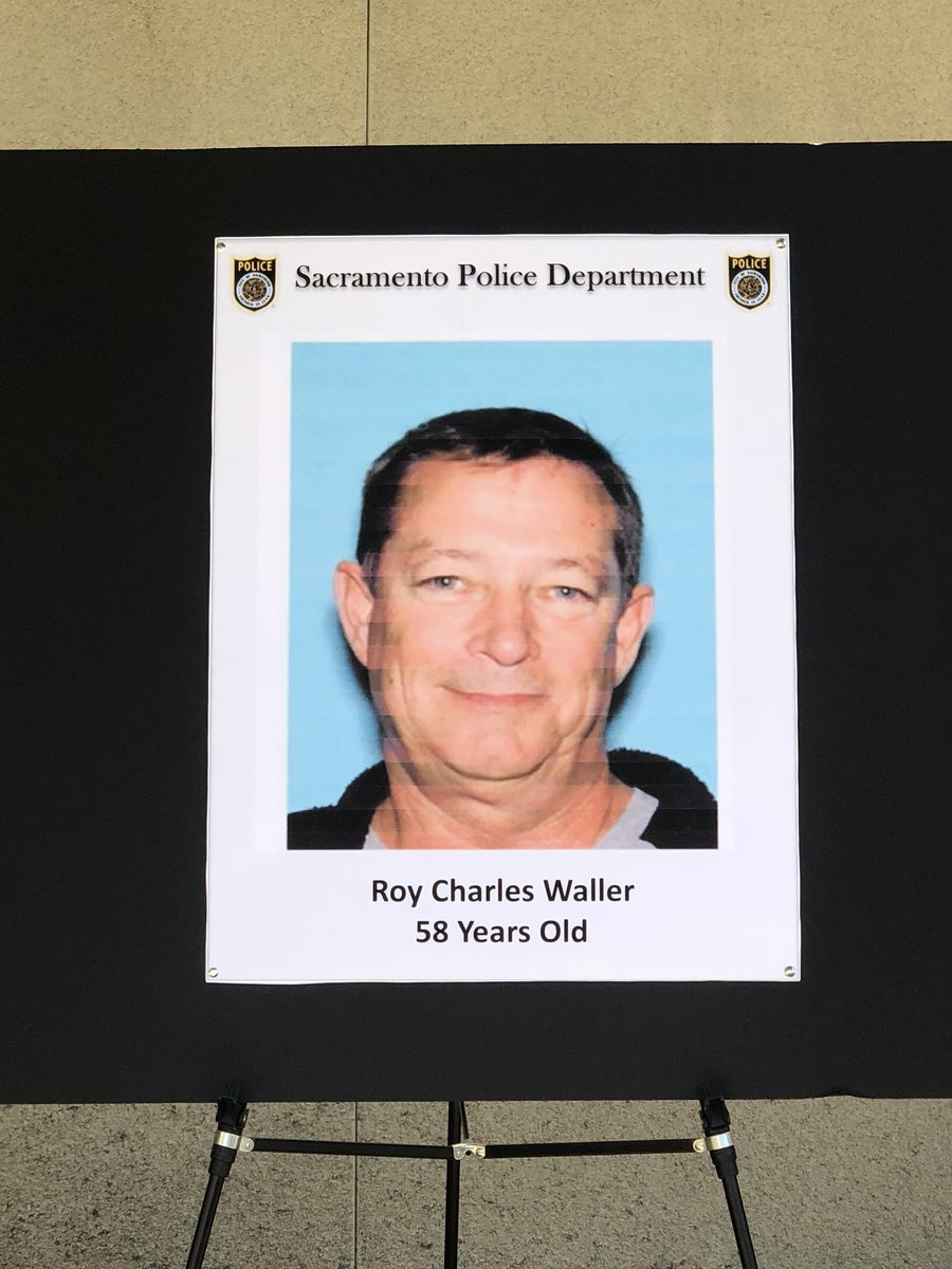Sacramento Police On Twitter Breaking News Roy Charles Waller 58