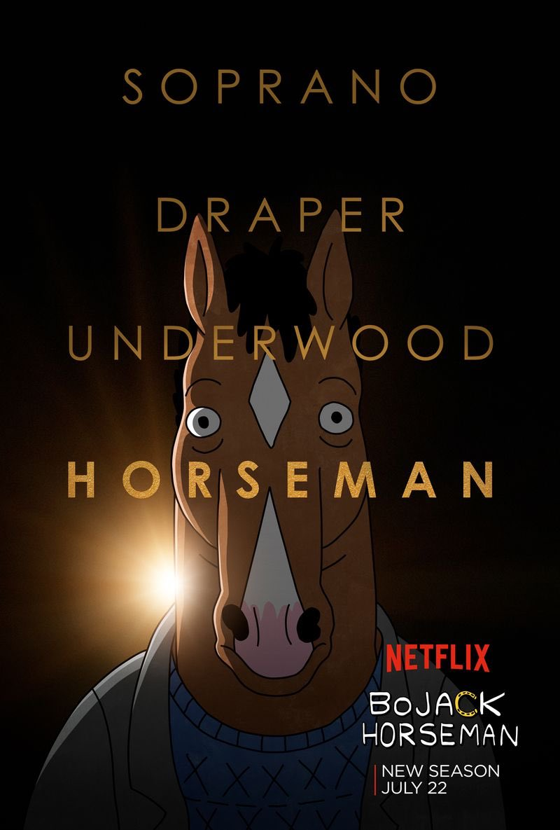 #BojackHorseman is without a doubt one of the best shows of our times.  If you haven't already seen it, you're lucky you still have so much to watch   Tune in  @netflix<br>http://pic.twitter.com/TzfeSqhuU1