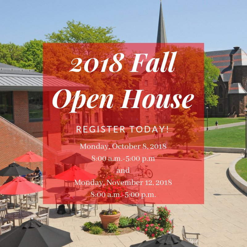 test Twitter Media - Register now for our Fall Open Houses! 🍂 Join us for campus tours, information sessions, WESeminars, and more: https://t.co/cffznfYMvZ  Hope to see you there!  🔴 ⚫ https://t.co/DWJ9KObdpL