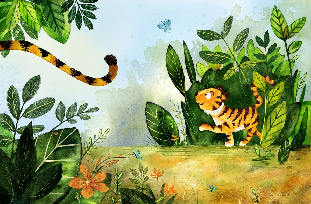 Finished, hurrah! Just in time for #colour_collective #hookersgreen #illustration #kidlitart #picturebooks<br>http://pic.twitter.com/b89WNfBZ3a