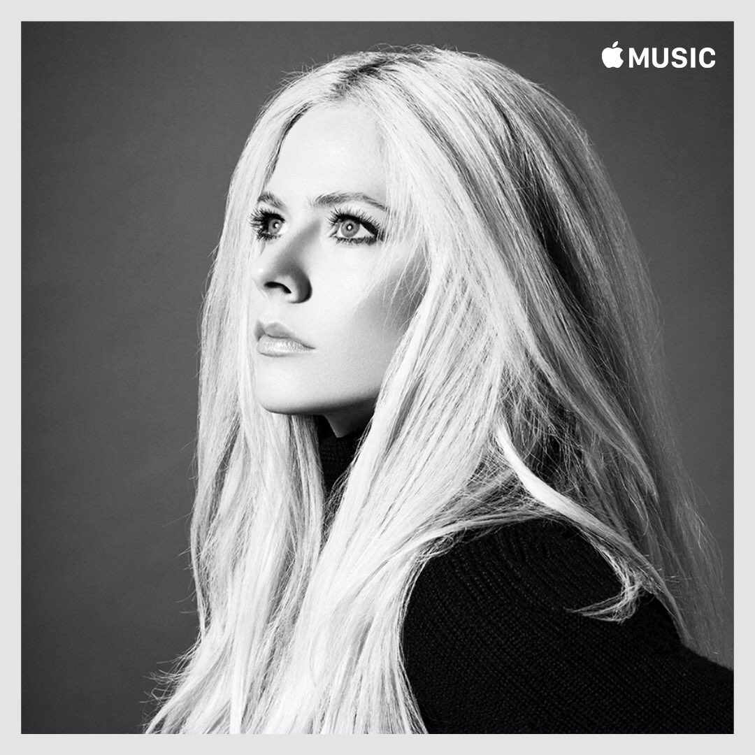 #HeadAboveWater was added to the #AvrilLavigneEssentials Playlist on @AppleMusic 💙 Listen here: https://t.co/J3BErGSMgC