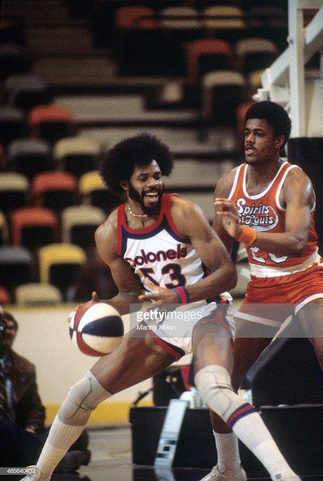 A happy birthday to ABA champion/MVP - HOFer Artis Gilmore!!!