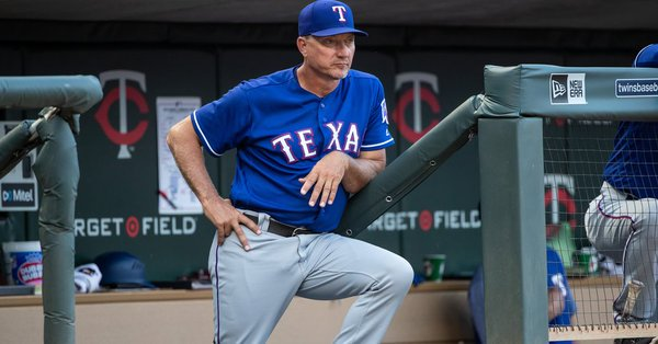 d317aa75159 The Rangers have fired manager Jeff Banister after four seasons at the helm  https