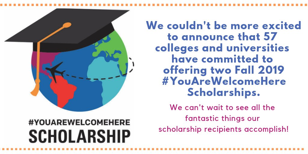 #YouAreWelcomeHere Scholarship