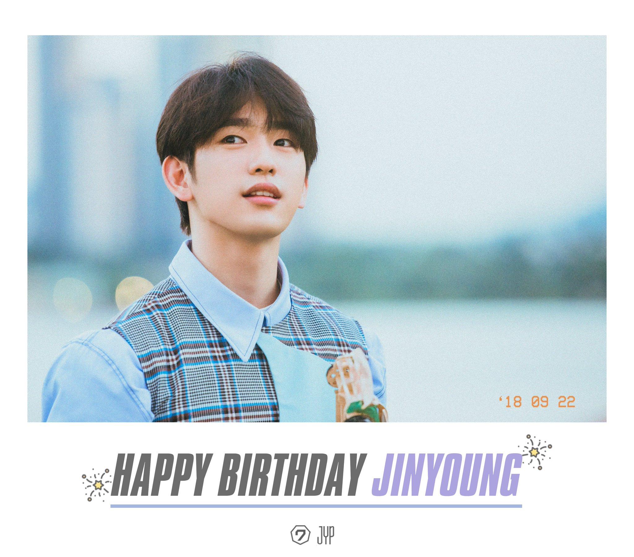 HAPPY BIRTHDAY Jinyoung  #MyYouthJinyoungDay https://t.co/0YYf64vUlH