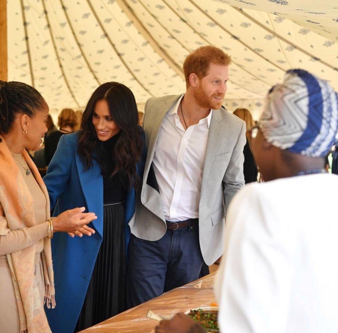 O olhar de admiração de Meghan ao lado do Príncipe Harry a nossa Marina é a demonstração de que amizade sincera vale um cupuaçu!