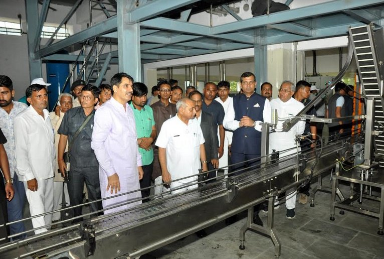 Banas Medical College and Banas Navras food oil plant inaugurated