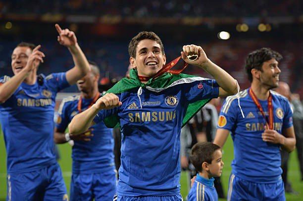 Good good memories! UEFA Europa League 🏆🥇🔵 #fbf Photo