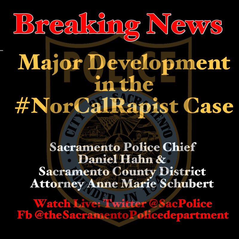Sacramento Police On Twitter Breaking News Major Development In