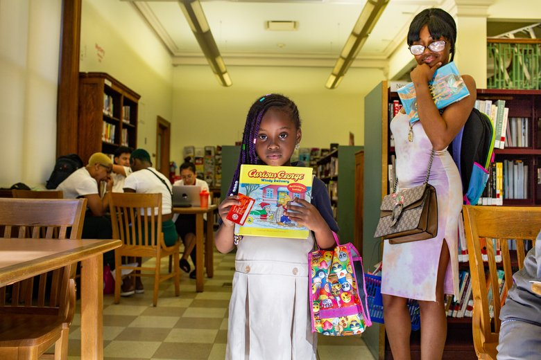 Inside one library, neighbors find child care, companionship, or just a place to cool off: https://t.co/qTfo80vTpq https://t.co/gfUbjeUlUT