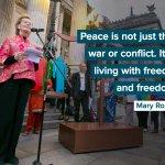 Image for the Tweet beginning: On the #InternationalDayOfPeace, help demand