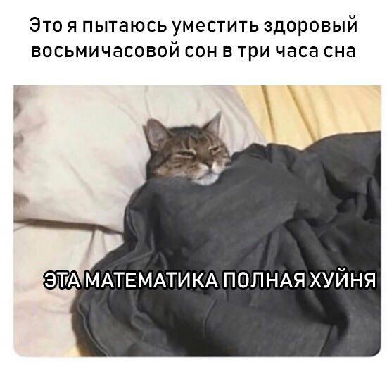 Three Hours Of Sleep