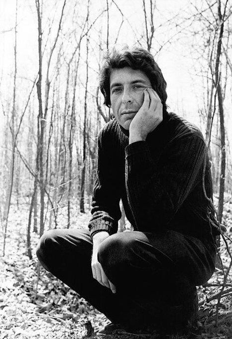 Happy Birthday Leonard Cohen  wherever you are