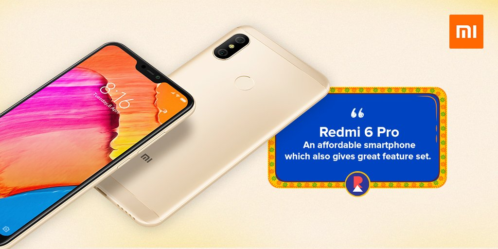 39ea053583 ... for an affordable smartphone that also gives a good performance and  great feature set then the Redmi 6 Pro is something I definitely recommend.