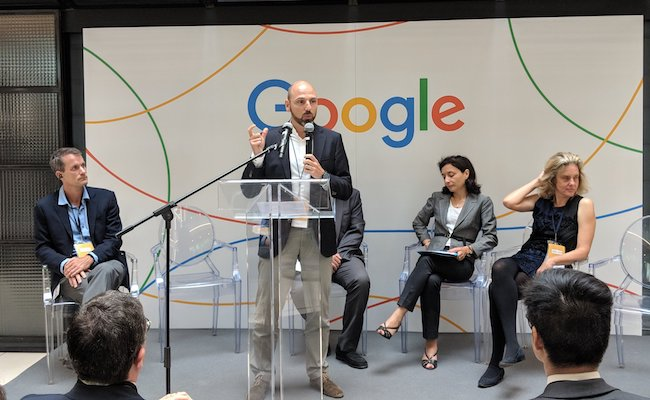 GAFA : #Google inaugure un laboratoire d'intelligence artificielle à #Paris https://t.co/zcYoGVOlC0 #AI