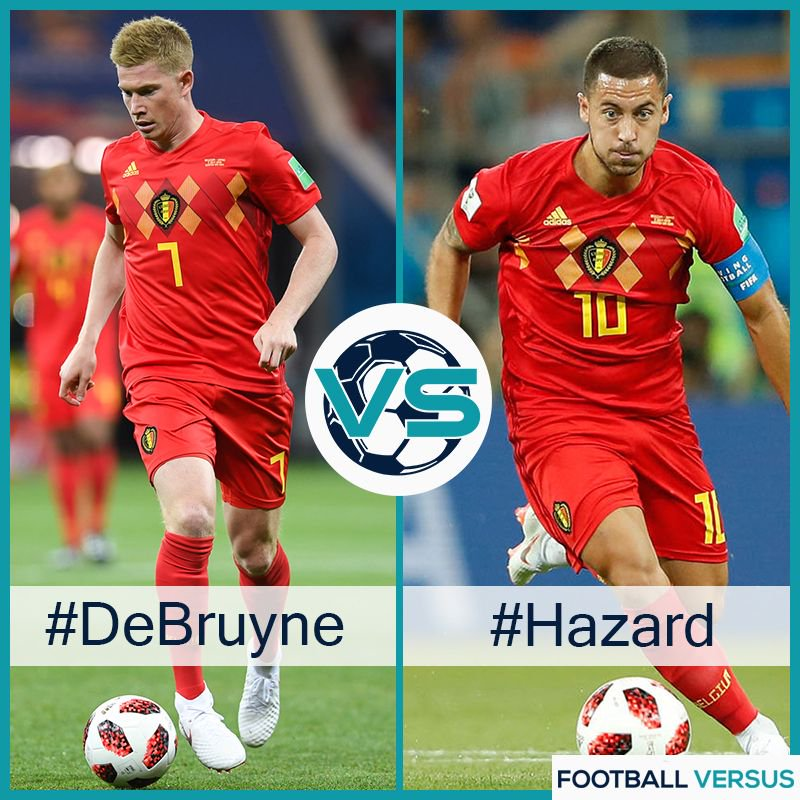 #Hazard vs #DeBruyne Comment below to vote  • #ManchesterCity #Chelsea #Belgium  - FestivalFocus