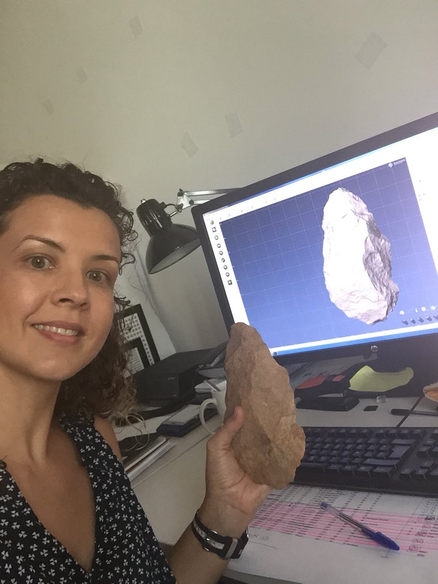 The #handaxes from #TD10 level of #GranDolina in Atapuerca are 🔝🔝! New work in progress! 💪🏼💪🏼💪🏼 @iphes @traceoiphes @britishmuseum #WEAP @MSCActions