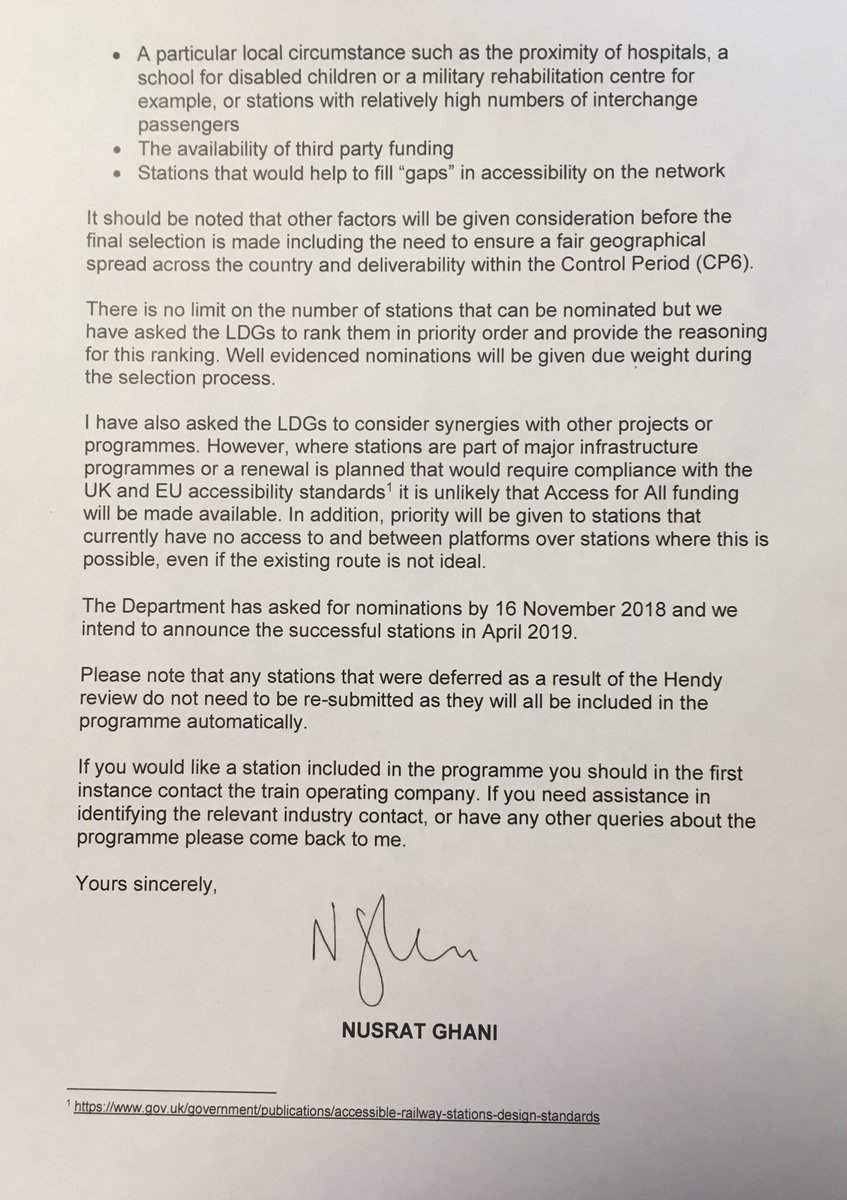 Craig whittaker mp on twitter pleased to write a letter of support craig whittaker mp on twitter pleased to write a letter of support in favour of todmorden railway station as part of the governments access for all expocarfo Choice Image