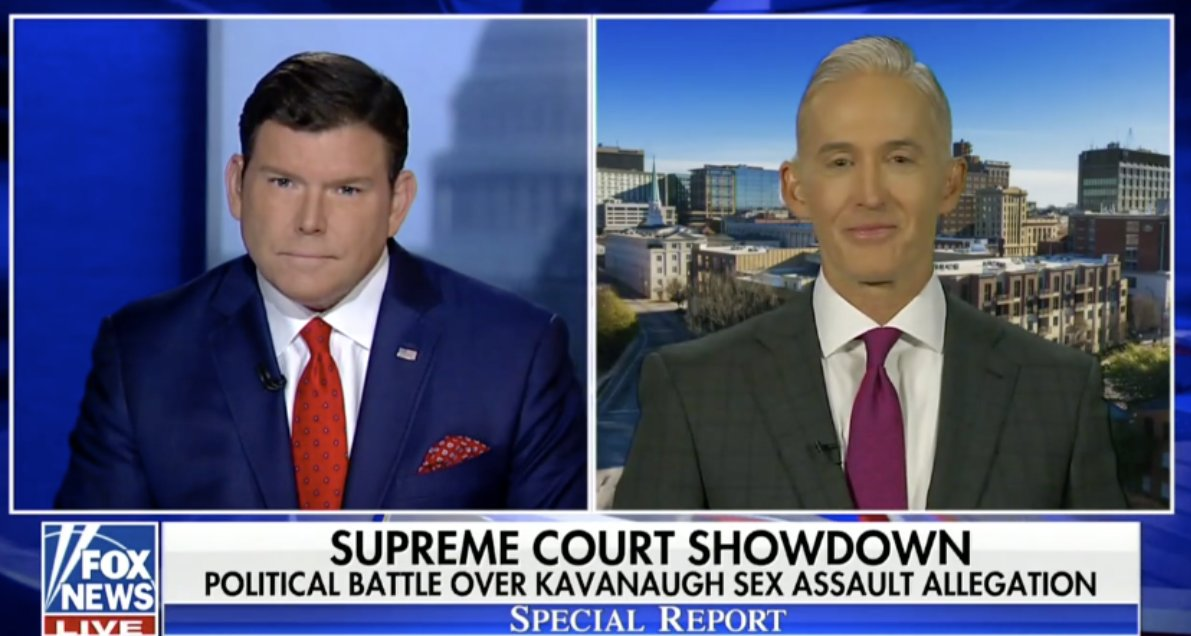 Gowdy Questions Why Kavanaugh Is Guilty Until Proven Innocent https://t.co/eJflmBLppW https://t.co/pdAJcQs6G9