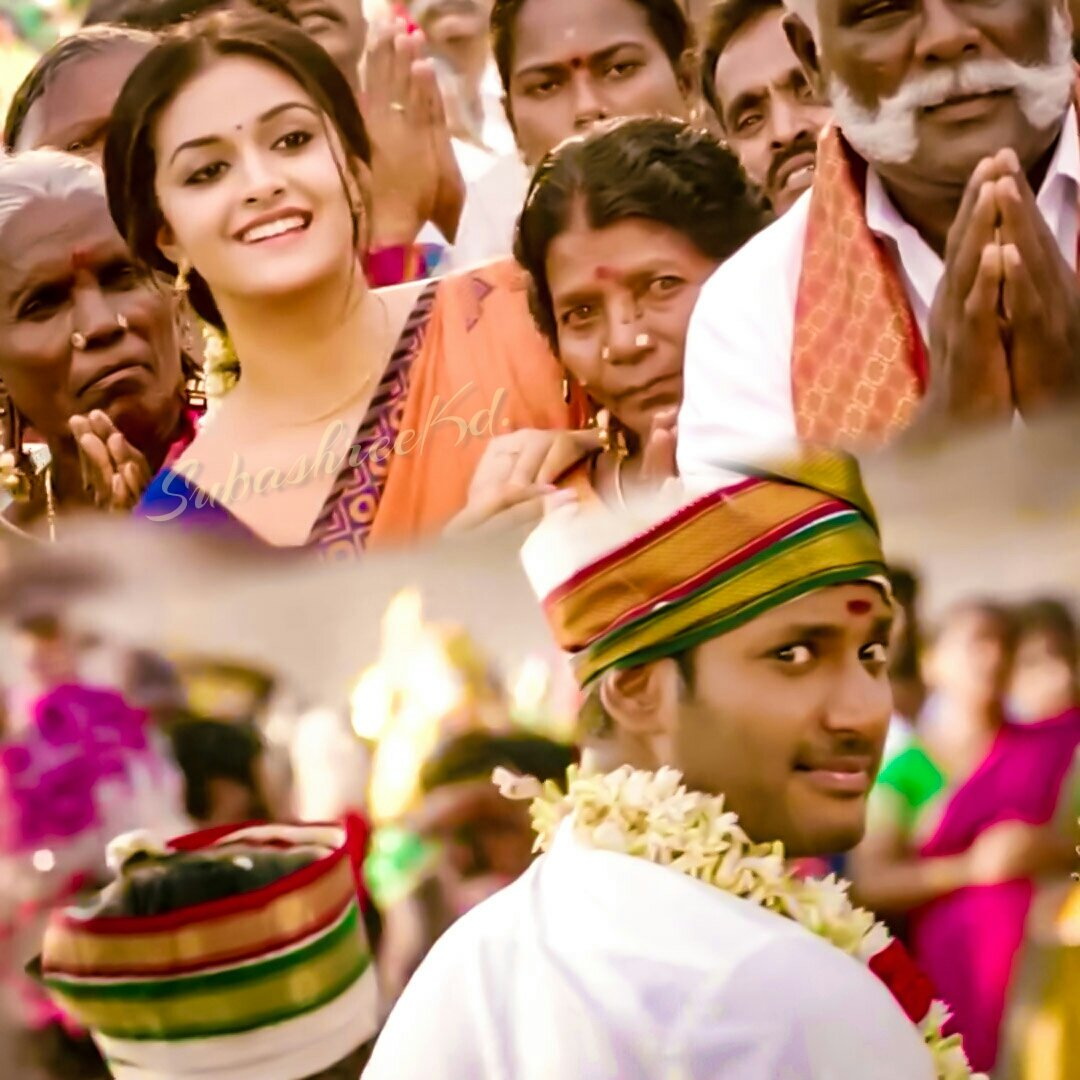 #Sandakozhi2 Latest News Trends Updates Images - SubashreeKD