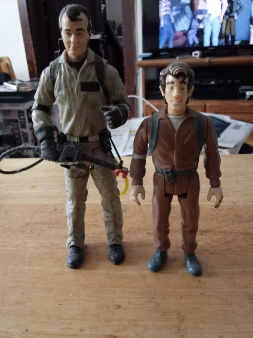 Happy Peter Venkman day! Happy Birthday to Bill Murray and Dave Coulier who voiced him in the cartoon!