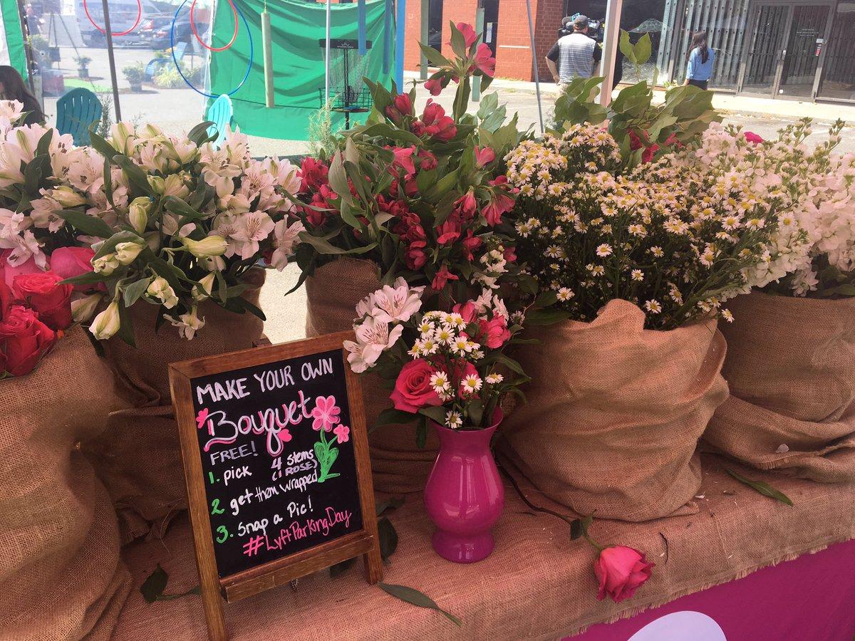 Joe Bruno On Twitter Lyft Is Giving Away Free Bouquets Of Flowers