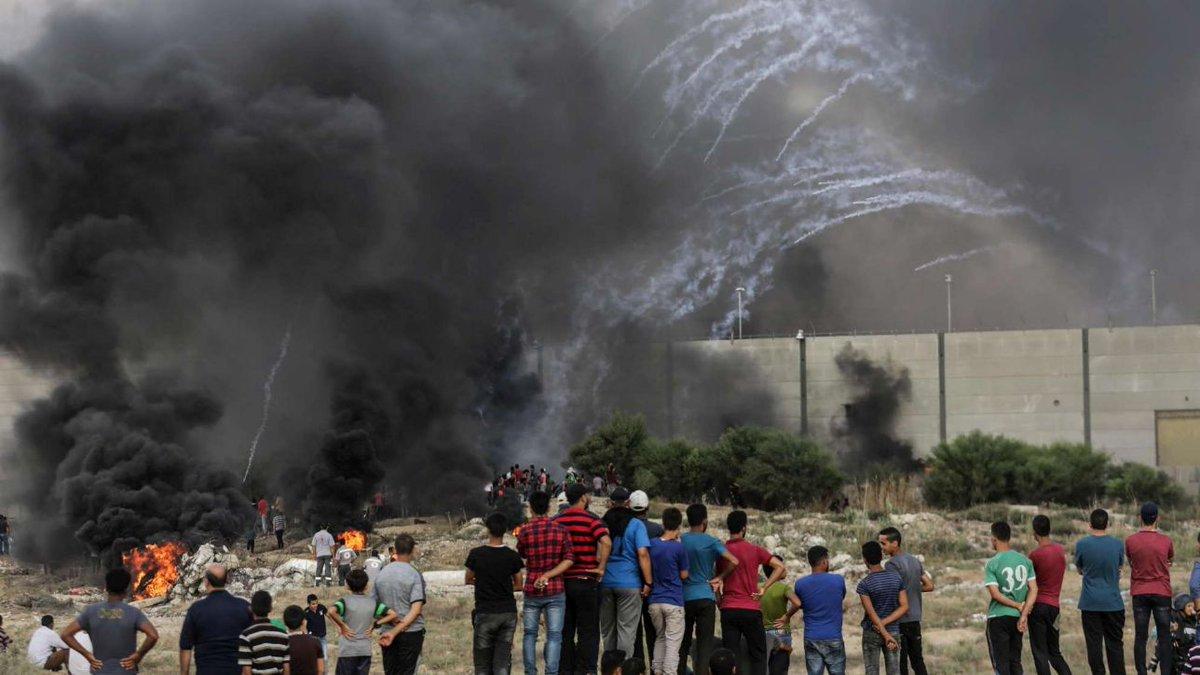Scontri a Gaza: muore manifestante palestinese, 30 i feriti #gaza http://mdst.it/02a3164663/  - Ukustom