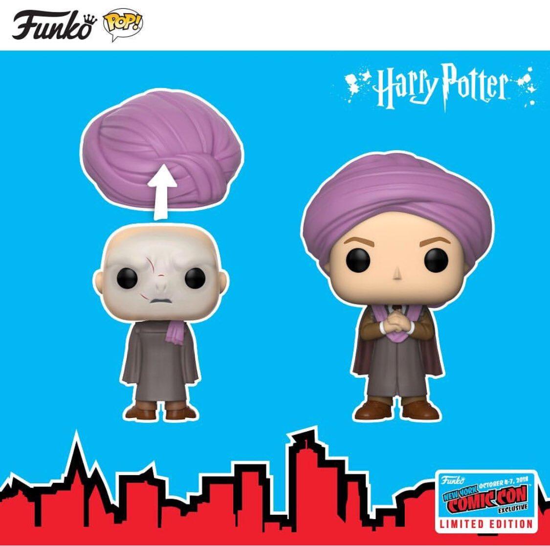 E niente signori, la mazzata è arrivata: esclusive Harry Potter NYCC 2018, professor Raptor con turbante removibile e la faccia di Voldemort! Poi ci sarà anche Hermione nel momento dello smistamento  #funko #funkopopitalianadventures #fpia #harrypotter #funkoitalia  - Ukustom